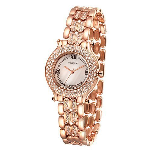 Time100 Strass rosegold W50324L 02A