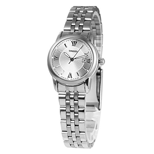 Time100 Armbanduhr Paaruhren Quarzuhr W80069L 01A