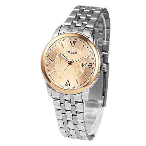 Time100 Armbanduhr Paaruhren Quarzuhr mit Kalender W80069G 03A