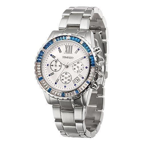Time100 Chronographuhr Armbanduhr Quarzuhr W50327G 01A