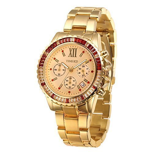 Time100 Chronographuhr Armbanduhr Quarzuhr W50327G 03A