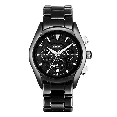 Time100 Chronographuhr Armbanduhr Quarzuhr W70059G 02A