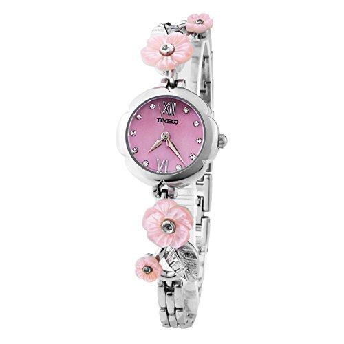 Time100 moderne Armbanduhr Junguhr rund W50193L 01A