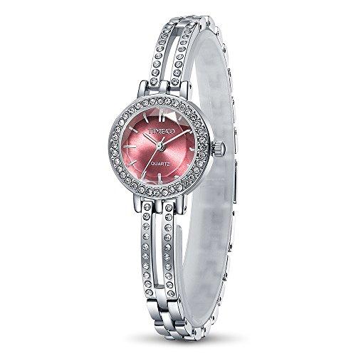 Time100 moderne Armbanduhr Junguhr rund W50281L 01A