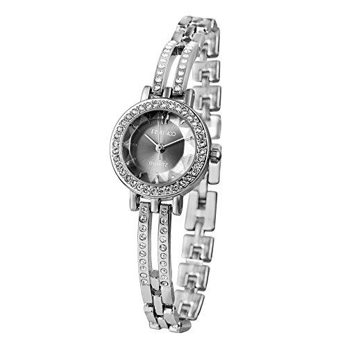 Time100 moderne Armbanduhr Junguhr rund W50281L 02A