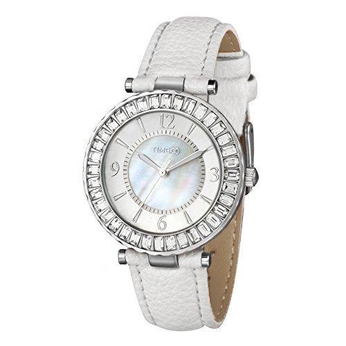 Time100 Strass Armbanduhr fuer Damen und Maedchen W50346L 01A
