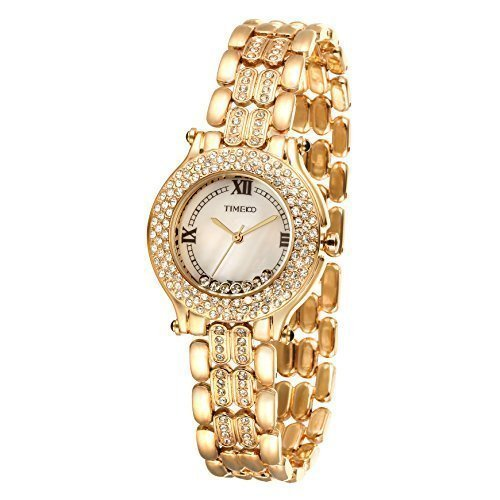 Time100 Strass Gold W50324L 01A