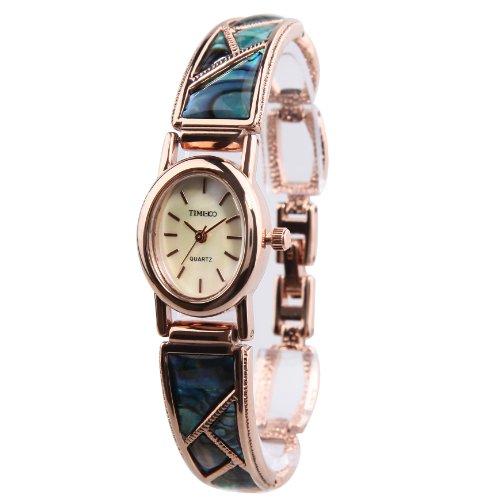 TIME100 NEU Damen Armkette Armband Armbanduhr Diamant Runde Analog Quarz W50129L 02A