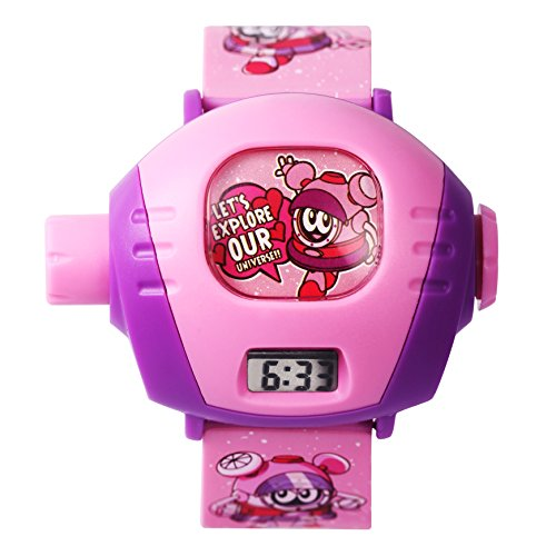 Time100 Cartoon Digital Kinderuhr Rosa W30019L 01A