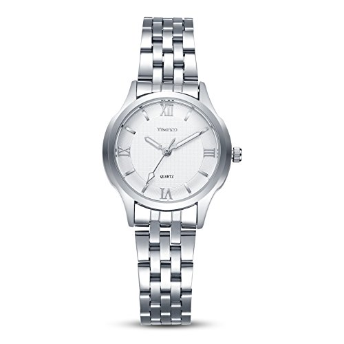 TIME100 Liebhaber Runde Analog Quarz Edelstahl W80061L 01A