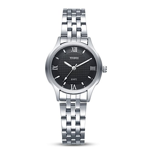 TIME100 Liebhaber Runde Analog Quarz Edelstahl W80061L 02A