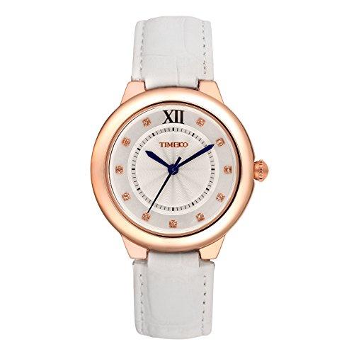 Time100 moderne Armbanduhr fuer Damen und Maedchen W50350L 01A