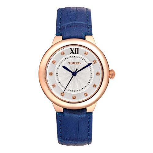 Time100 moderne Armbanduhr fuer Damen und Maedchen W50350L 02A