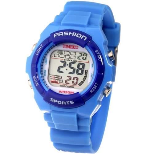 Time100 Charakteristische Multifunktion-Sport- Digital-Armbanduhr W40011L01A