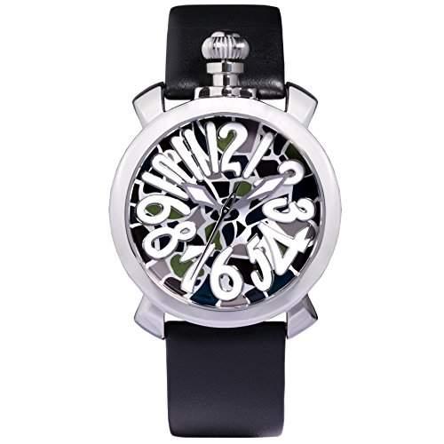 Time100 Reizende GaGa-stilistische Frabige Emaille-Damen-Armbanduhr W50046L01A
