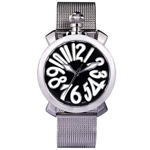 Time100 Reizende GaGa-stilistische Frabige Emaille-Damen-Armbanduhr W50046L06A