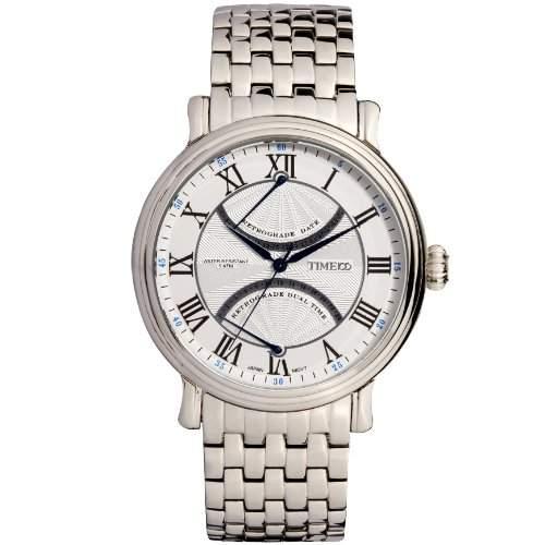 Time100 Englische Klassische Herren-Armbanduhr mit romanischen Nummern W80005G02A