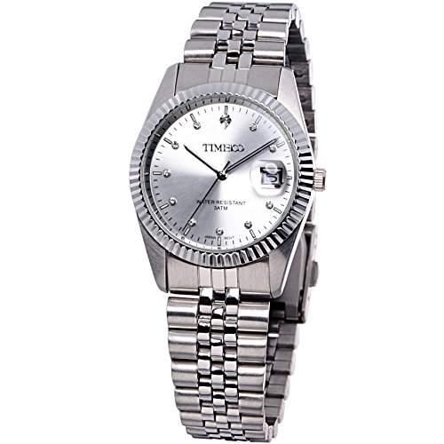 Time100 Klassische Business-Liebespaar-Herren-Armbanduhr W80027G01A