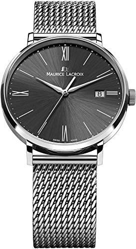 Maurice Lacroix Eliros EL1087-SS002-311-1 Herrenarmbanduhr flach & leicht