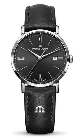 Maurice Lacroix Damen-Armbanduhr Analog Quarz Leder EL1084-SS001-313-1