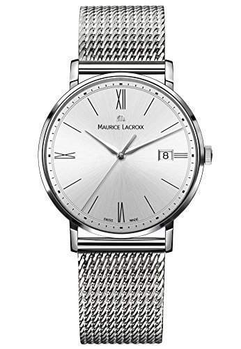 Maurice Lacroix Herren-Armbanduhr Analog Quarz Edelstahl EL1087-SS002-112-1