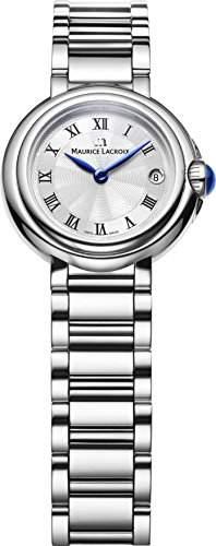 Maurice Lacroix Fiaba Round FA1003-SS002-110 Damenarmbanduhr Klassisch schlicht