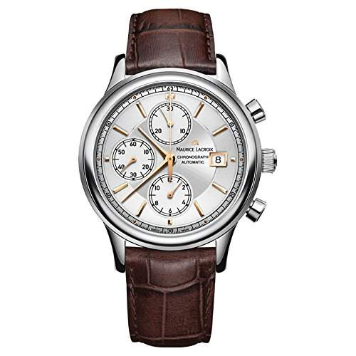 Maurice Lacroix Les Classiques Chronographe Herrenuhr Chrono Swiss Made LC6158-SS001-130-1