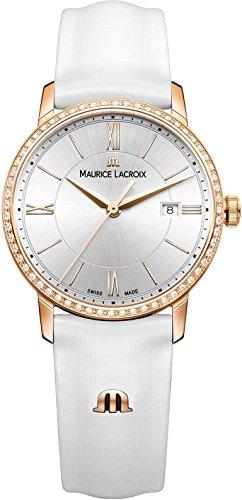 Maurice Lacroix Eliros EL1094 PVPD1 112 1 Damenarmbanduhr mit echten Diamanten