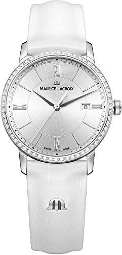 Maurice Lacroix Eliros EL1094 SD501 110 1 Damenarmbanduhr mit echten Diamanten