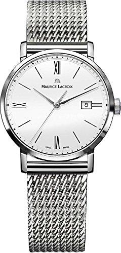 Maurice Lacroix Eliros Damenarmbanduhr flach leicht EL1084 SS002 111 1
