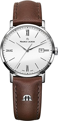 Maurice Lacroix Eliros EL1084 SS001 111 2 Damenarmbanduhr flach leicht