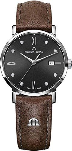 Maurice Lacroix Eliros EL1084 SS001 350 2 Herrenarmbanduhr flach leicht