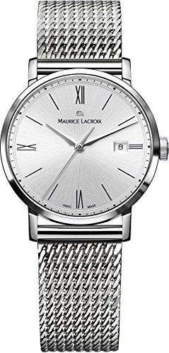Maurice Lacroix Eliros EL1084 SS002 113 1 Damenarmbanduhr flach leicht