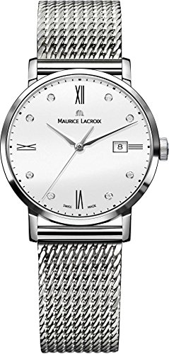 Maurice Lacroix Eliros EL1084 SS002 150 1 Damenarmbanduhr flach leicht