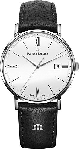 Maurice Lacroix Eliros EL1087 SS001 111 1 Herrenarmbanduhr flach leicht