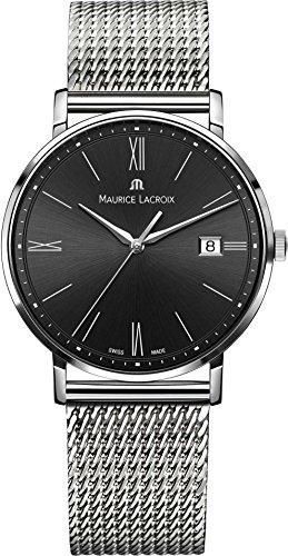 Maurice Lacroix Eliros EL1087 SS002 312 1 Herrenarmbanduhr flach leicht