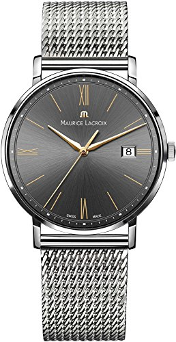 Maurice Lacroix Eliros EL1087 SS002 812 1 Herrenarmbanduhr flach leicht
