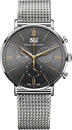 Maurice Lacroix Eliros EL1088 SS002 812 1 Herrenchronograph Grossdatum