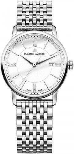 Maurice Lacroix Eliros EL1094 SS002 110 1 Damenarmbanduhr flach leicht
