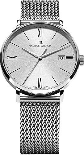 Maurice Lacroix Eliros EL1118 SS002 110 1 Herrenarmbanduhr flach leicht