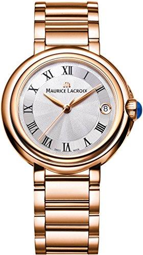 Maurice Lacroix Fiaba Round FA1004 PVP06 110 1 Damenarmbanduhr Sehr Elegant