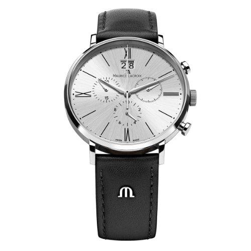 Maurice Lacroix XL Eliros Chronograph Quarz Leder EL1088 SS001 110