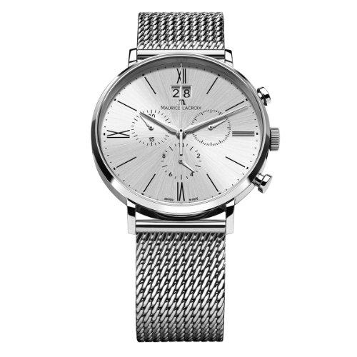 Maurice Lacroix XL Eliros Chronograph Quarz Edelstahl EL1088 SS002 110