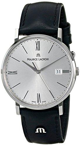 Maurice Lacroix Herren el1087 ss001 110 Eliros Analog Display Analog Quartz Black Watch