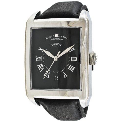 Maurice Lacroix Herren PT6147 SS001 31E Pontos Rectangulaire Uhr