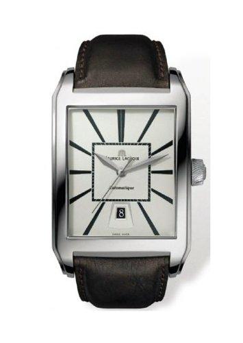 Maurice Lacroix Herren Uhren Pontos Rectangulaire PT6117 SS001 130