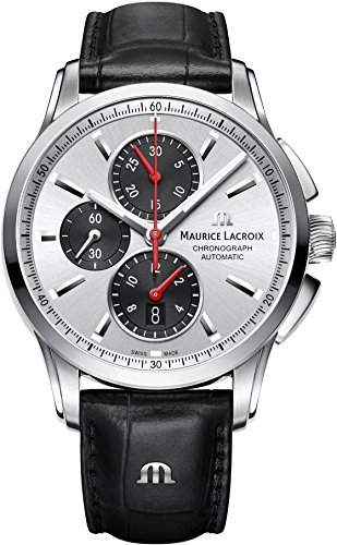 Maurice Lacroix Pontos Herren Automatikchronograph Massives Gehaeuse