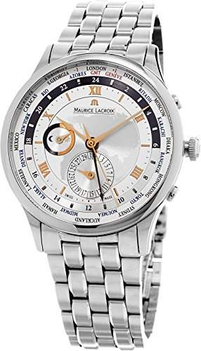MAURICE LACROIX MASTERPIECE WORLDTIMER HERREN 42MM DATUM UHR MP6008-SS002-110-1