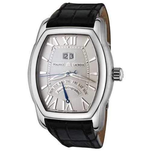 Maurice Lacroix Herren MP6119-SS001-11E Masterpiece Collection Jours Retrograde Automatik Uhr