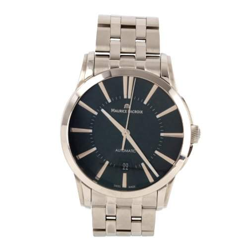 Maurice Lacroix Herren-Armbanduhr XL Pontos Date Analog Automatik Edelstahl PT6148-SS002-330